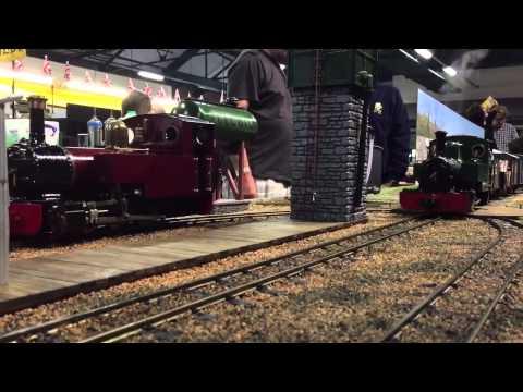 Elsecar garden railway show 2015 by ED