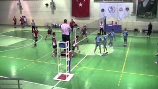 ybu tvf spor lisesi erkek voleybol msabakası 19 11 2013 2