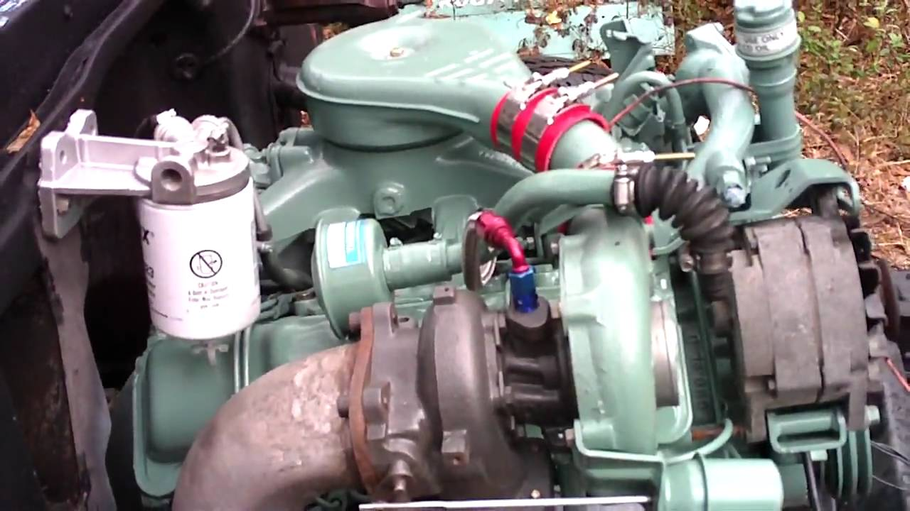 IT LIVES! 6.2L Turbo Diesel in '67 C-30 dually pickup ...