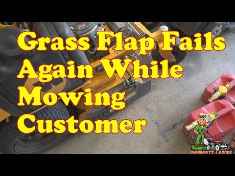 My Grass Flap Chute Blocker failed again