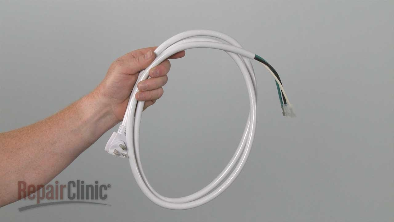 Power Cord Replacement Part 8064210 Asko Washer