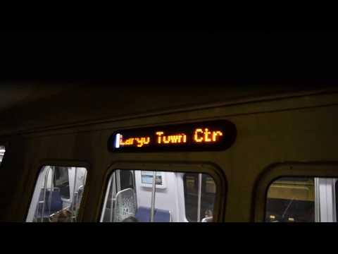 Largo Town Center-bound 7000s Silver Line train at Farragut West