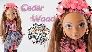 *cedar Wood Spring Unsprung/vera Primavera* - *recensione/review*