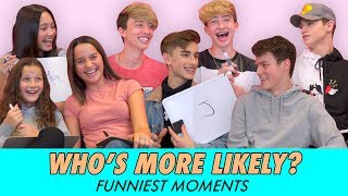 Who's More Likely? Funniest Moments