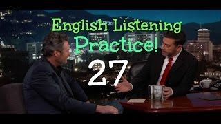 Blake Shelton, Jimmy Kimmel - Conversation in English: Improve Your Listening Comprehension