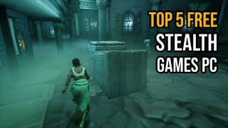 Top 5 FREE Steąlth Games for PC 2021
