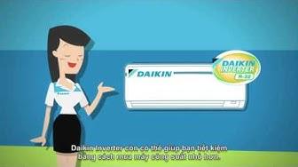 Ưu điểm của máy lanh Daikin inverter