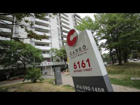 Toronto apartments for rent, located at 6161- Bathurst St managed by Cando Apartments