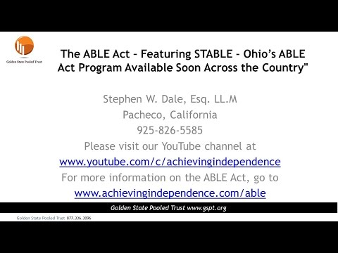 STABLE   Ohio's ABLE Act Program