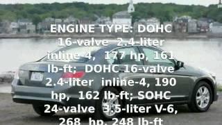 2008 Honda Accord - Review, Specs