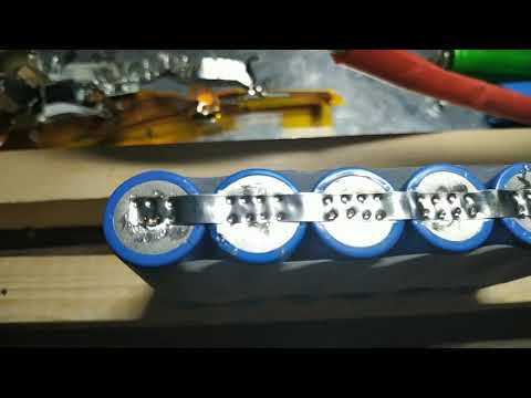 Самодельная точечная сварка, пайка б/у аккумуляторов 18650