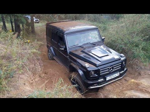 Baixar Гелик без блокировок. Каков он в деле? (Mercedes G-класс, Lexus LX470, Land Rover Discovery и др.)