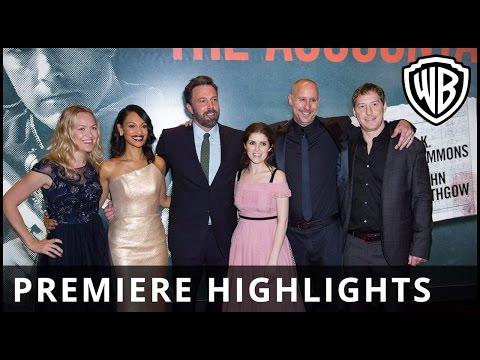 The Accountant - European Premiere Highlights - Warner Bros. UK