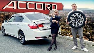 Максимальный Honda Accord Hybrid CR6.  Цена.  Тест-драйв.  Плюсы и минусы.