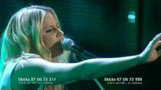 Lisa Miskovsky - Why Start A Fire - Live Melodifestivalen 2012.