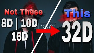 [YOU MUST TRY LISTENING TO THIS‼] Twenty One Pilots - Chlorine | 32D AUDIO NOT 16D | Use Headphone?