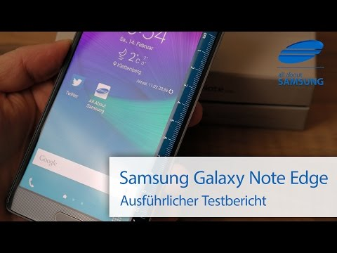 Samsung Galaxy Note Edge SM-N915F Test Review deutsch HD