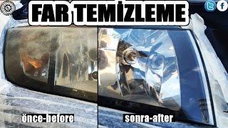 Far Temizleme Süper Sonuç (Headlight Cleaning)