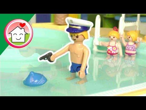 الظابط شريف في حديقة الألعاب المائية - عائلة عمر - أفلام بلاي