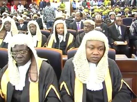 Watch As Chief Justice Of Nigeria Reacts To Criticisms On Recent Supreme Court Judgements