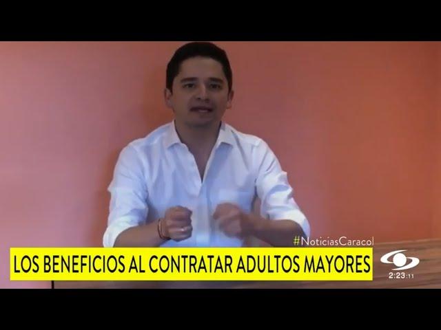 Noticias Caracol - Aprobada la #LeyDelEmpleoDelAdultoMayor
