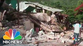 Earthquake Leaves More Than 200 Dead in Haiti