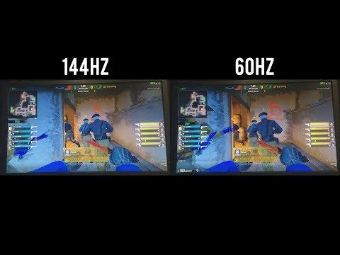 60Hz VS 144Hz - CSGO [60 FPS]