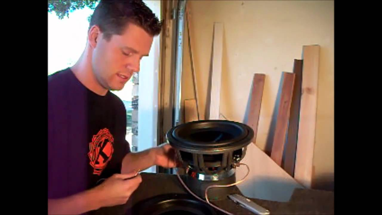 How To Wire A Subwoofer Parallel Or Series Dual Voice Coil Youtube And Wiring For Subs