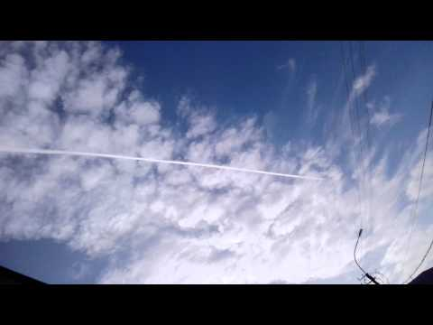 Chemtrails and Weather Manipulation - Tbilisi Georgia May-Ju