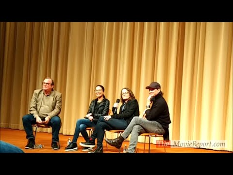 CRAZY RICH ASIANS Q&A with Michelle Yeoh & producers Nina Jacobson, John Penotti - October 28, 2018