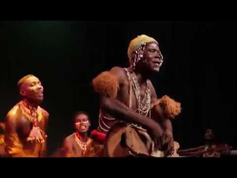 Congolese dance - Ballet Arumbaya Ndendeli