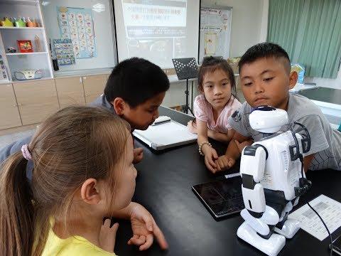 107機器人當小老師數學真有趣