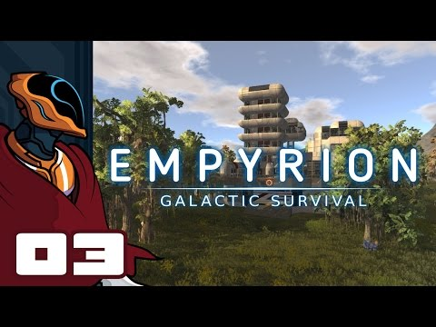 Let's Play Empyrion: Galactic Survival - Gameplay Part 3 - Big Game Hunting