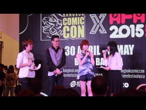 May'n Interview at AFA Thailand 2015 Press Conference
