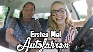 Erstes Mal Auto fahren mit meinem Papa ! 😍🚗 | Carina Spoon