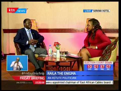 Raila Odinga sings Swahili version of Jamaican Farewell