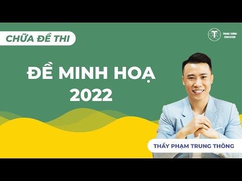 CHỮA CHI TIẾT ĐỀ MINH HỌA 2020 - MÔN VẬT LÝ   Thầy PHẠM TRUNG THÔNG
