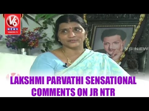 Lakshmi Parvathi Sensational Comments on Jr NTR | Kirrak Show | V6 News