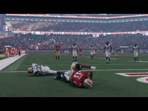 NFL Sunday 12/24/2017 - Jacksonville Jaguars vs San Francisco 49ers Full NFL Game (NFL Madden 18)