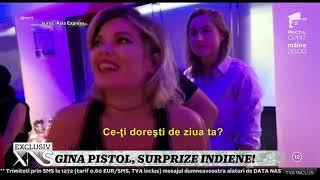 """Gina Pistol, aniversare în India, pe platourile de filmare """"Asia Express""""! Ce își dorește"""