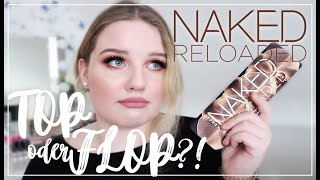 URBAN DECAY NAKED RELOADED PALETTE | First Impression | annalbk