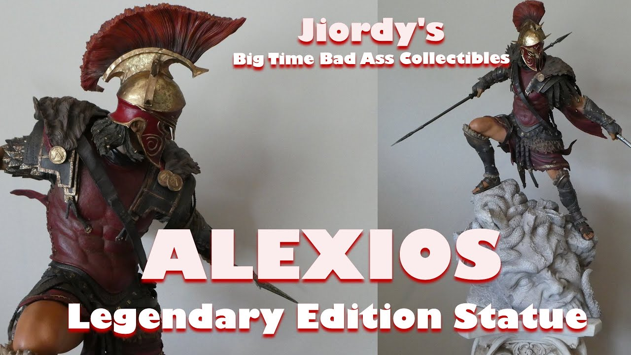 Assassin S Creed Odyssey The Alexios Legendary Statue Edition
