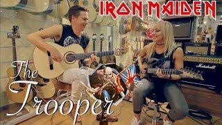 The Trooper (Iron Maiden) - Thomas Zwijsen ft. Nita Strauss (Alice Cooper)