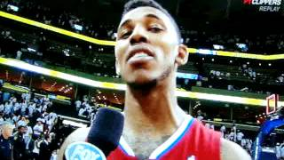 Nick Young....Best NBA Interview of the year.....After clipps big win over the grizz game 1