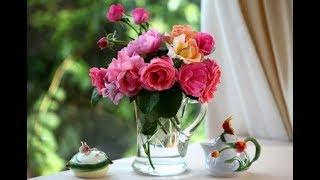 Очень красивая музыка и прекрасные цветы!