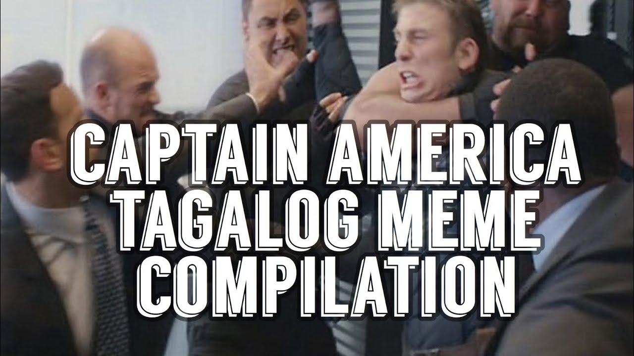 Captain America Tagalog Meme Youtube