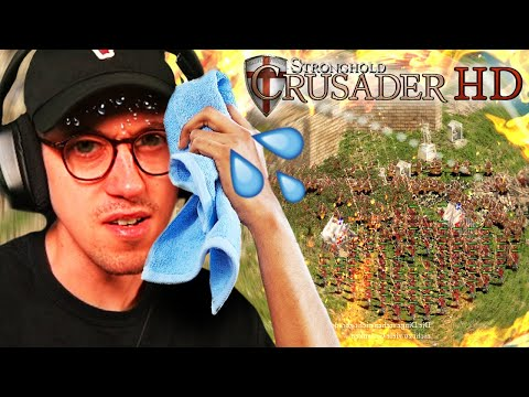 Die absolute SCHWITZER Runde   Stronghold Crusader HD