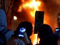 Flames and destruction: Riot at Berkeley