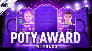 NEW POTY CARDS! POTY PUKKI & POTY AARONS | PLAYER REVIEW SERIES | FIFA 19 ULTIMATE TEAM