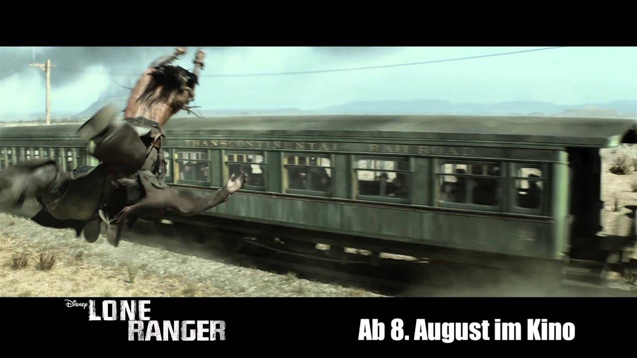 LONE RANGER - Offizieller deutscher Trailer 3 - Disney